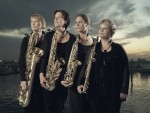 Swedish saxophone quartet Rollin'Phones, photographer Pelle Piano